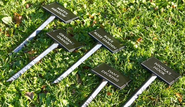 Online Sign Maker Plant Stakes Grave Markers Amp Tree Stakes